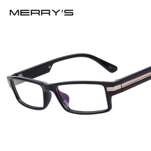 283fc4c4db7 MERRY S Men Eye Glasses Unisex Optical Computer Eyewear