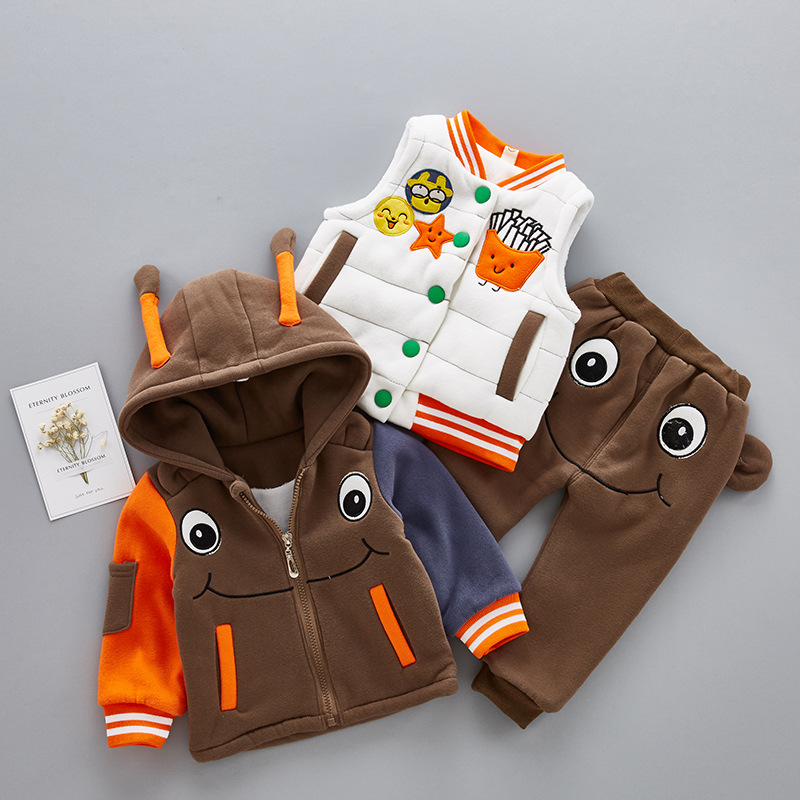 Russina Winter Suits For Boys Clothing Sets Baby Girl Clothes Set Infant Baby Casual Sport Children Suits Toddler Warm Coats baby boys suits clothes gentleman suit toddler boys clothing infant clothing wedding birthday cotton summer children s suits