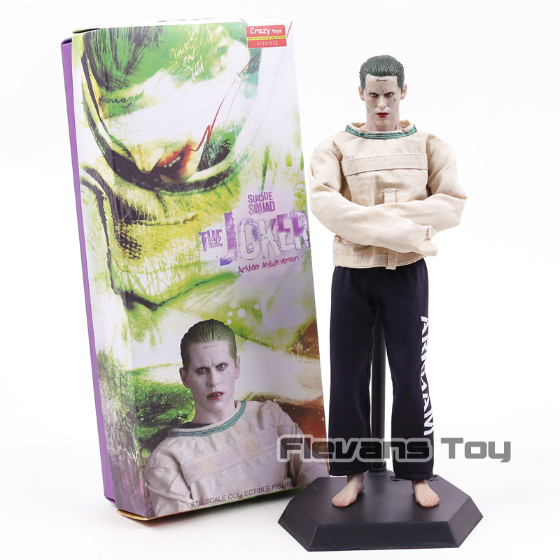 Suicide Squad The Joker Variant Action Figure 1/6 scale Crazy Toys Genuine Arkham Asylum Ver. Joker PVC Figure Toy Brinquedos injustice gods among us the joker suicide squad shf s h figuarts the dark knight joker cartoon pvc action figure toy
