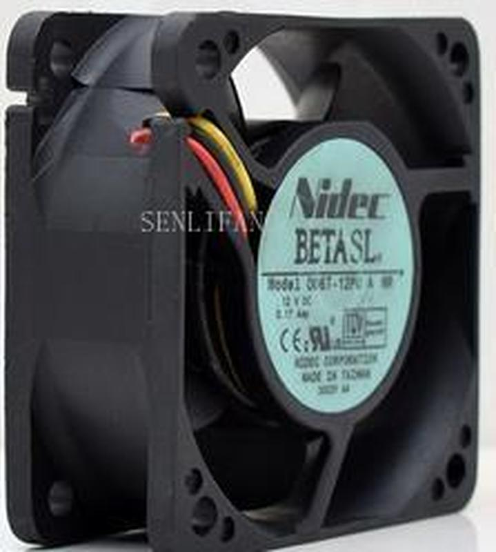 Free Shipping Good Quality NIDEC 6025 12V 0.17A D06T-12PU Cooling Fan
