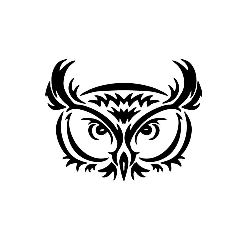 2017 Hot Sale Owl Tribal Vinyl Graphic Decal Car Vinyl