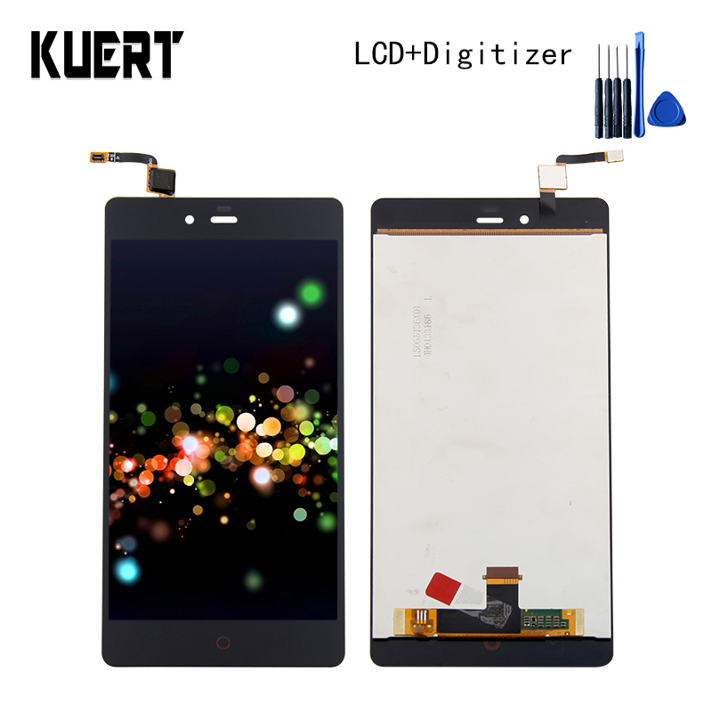 KUERT High Quality 5.5 For ZTE Nubia Z9 Max NX510J NX512 Touch Screen Digitizer 1920x1080 LCD Display Assembly Free shipping