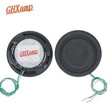 GHXAMP 1.5 cal 8OHM 6W pełny zakres Ultra cienki głośnik jednostki pulpitu gitara basowa membrana wibracyjna 2 sztuk