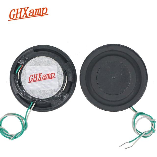 Ghxamp 1.5 Inch 8OHM 6W Đầy Đủ Mỏng Đơn Vị Loa Máy Tính Để Bàn Bass Rung Màng 2 Chiếc