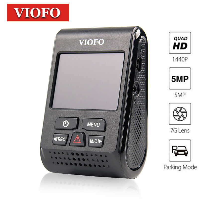VIOFO a119 Dvr Dash caméra enregistreur voiture Dvr GPS Dash Cam 1080 P Full HD Novatek 96660 Dashcam tableau de bord GPS CPL Dvr caméra Carcam