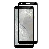 2 PCS Della Copertura Completa di Alta-allumina Vetro Temperato Per Google Pixel 3A Protezione Dello Schermo pellicola protettiva Per Google Pixel 3A XL di vetro