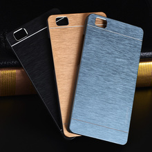 For Huawei P9 Lite Case Luxury Motomo Metal PC Brushed Aluminum Case For Huawei P9 Lite Cover For Huawei P8 lite Case Metal Capa