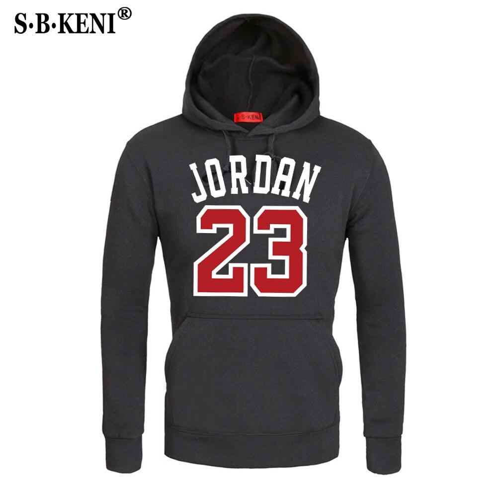 2018 Brand Male Hip Hop Long Sleeve JORDAN 23  Hooded Sweatshirt Mens Hoodie Tracksuit Sweat Coat Casual Sportswear Hoodies