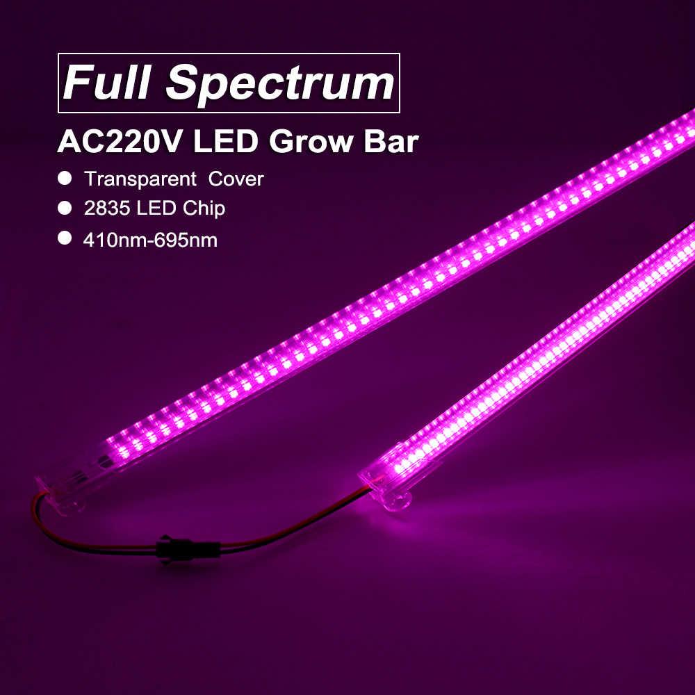 220V Lampada per le Piante Spettro Completo LED Luci a intensità Phyto di Alta Efficienza Luminosa Impianto Al Coperto In Crescita Lampade per il Fiore Piantina