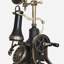 HA1884 teléfono antiguo vintage moda teléfono fijo