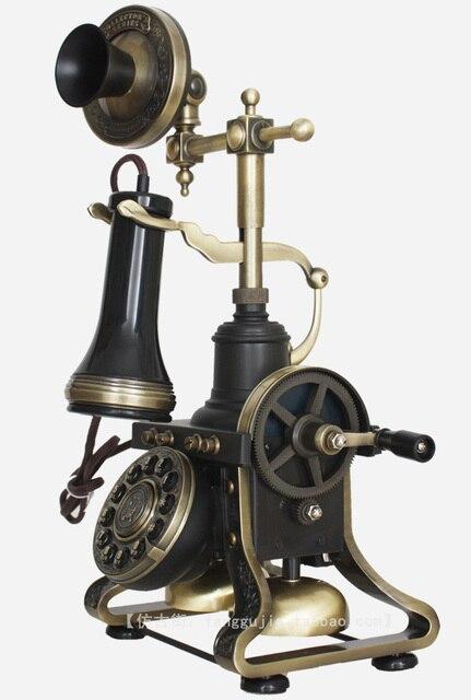 HA1884 telefone antigo telefone do vintage da moda