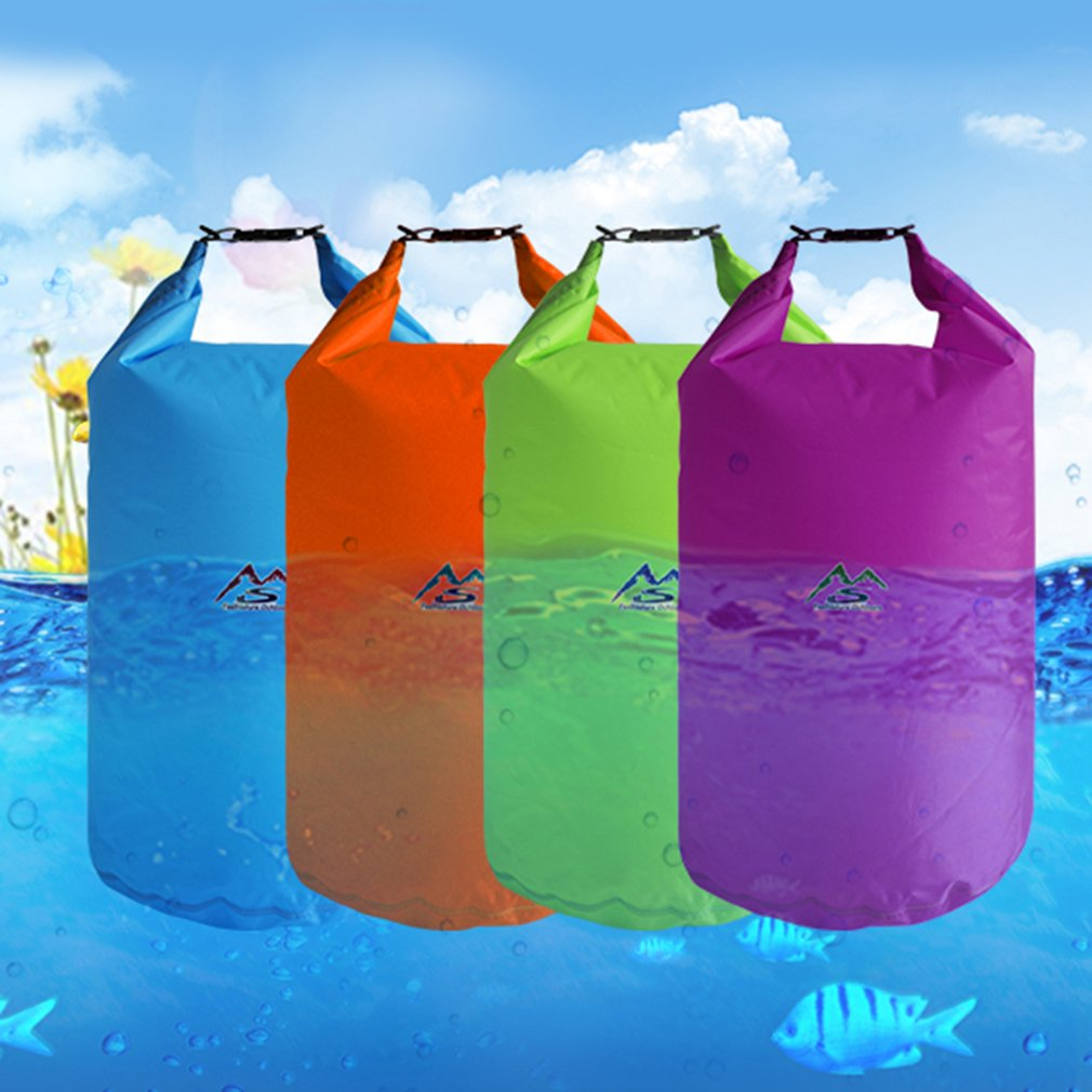 5L/10L/20L/40L Waterproof Outdoor Swimming Bag Dry Bag Sack Floating Gear Bags For Boating Fishing Rafting Swimming Hot Sale