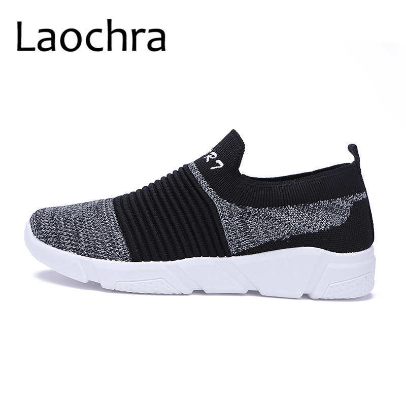 LAOCHRA Mens Summer Shoes 2018 New Arrival Unisex Sock Shoes Kasut - Kasut lelaki - Foto 1