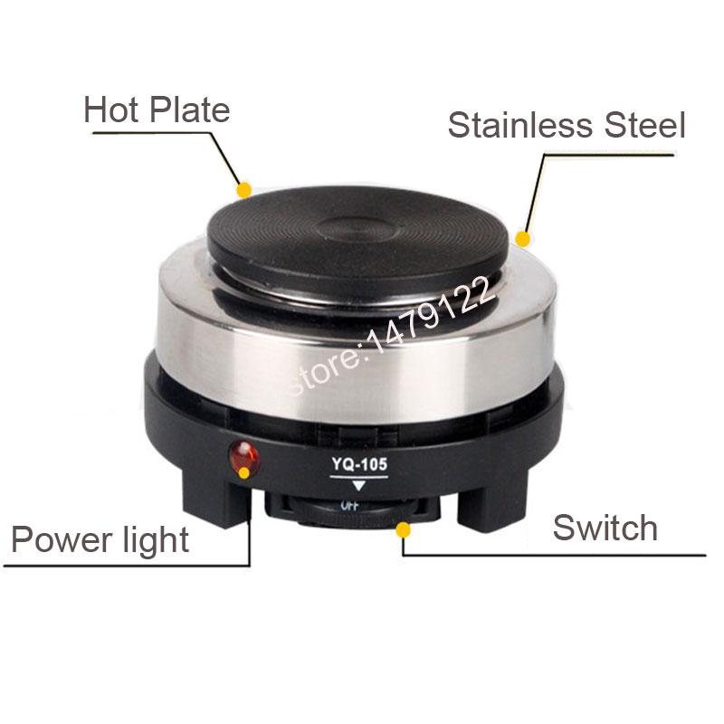Neue 220 V 500 Watt MINI herd Elektrische Kochplatten - Küche, Essen und Bar - Foto 3