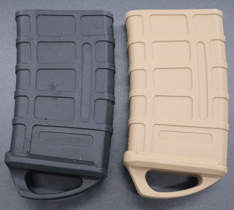 5.56 NATO Fast Magazine Rubber Pouch M4/M16 Mag Tatical Rubber Holster dd type hard rubber pistol grip for m4 m16 black