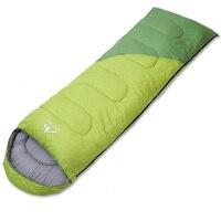 Outdoor adult cotton sleeping bag Lazy Bag Spliced envelopes four seasons general sleeping bags Septum travel nap sleeping bags