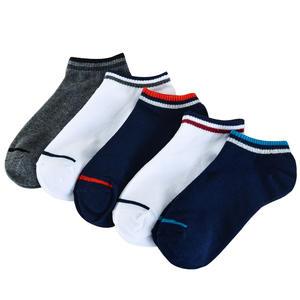 adee1a866a9 5pairs 10pcs lot Cotton Men Stripes Boat Socks Summer Male