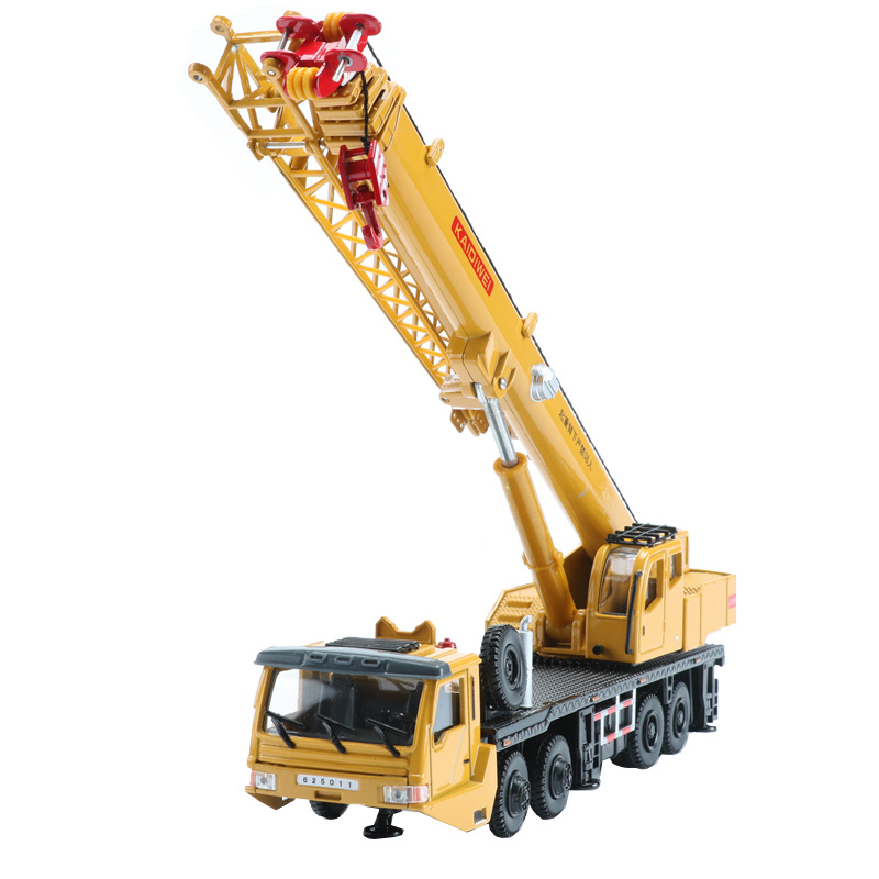 KAIDIWEI 1:55 Alloy Mega Lifter Car Model Toy Engineering Vehicle Dinky Toys For Children Boys Gift 1 50 drill wagon alloy truck engineering vehicle toy car model dinky toys for children boys gift
