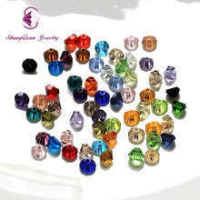 Здесь можно купить  AAA quality Tower shape Austrian crystal beads half bicone loose bead glass ball 6mm 100pcs supply bracelet Jewelry DIY