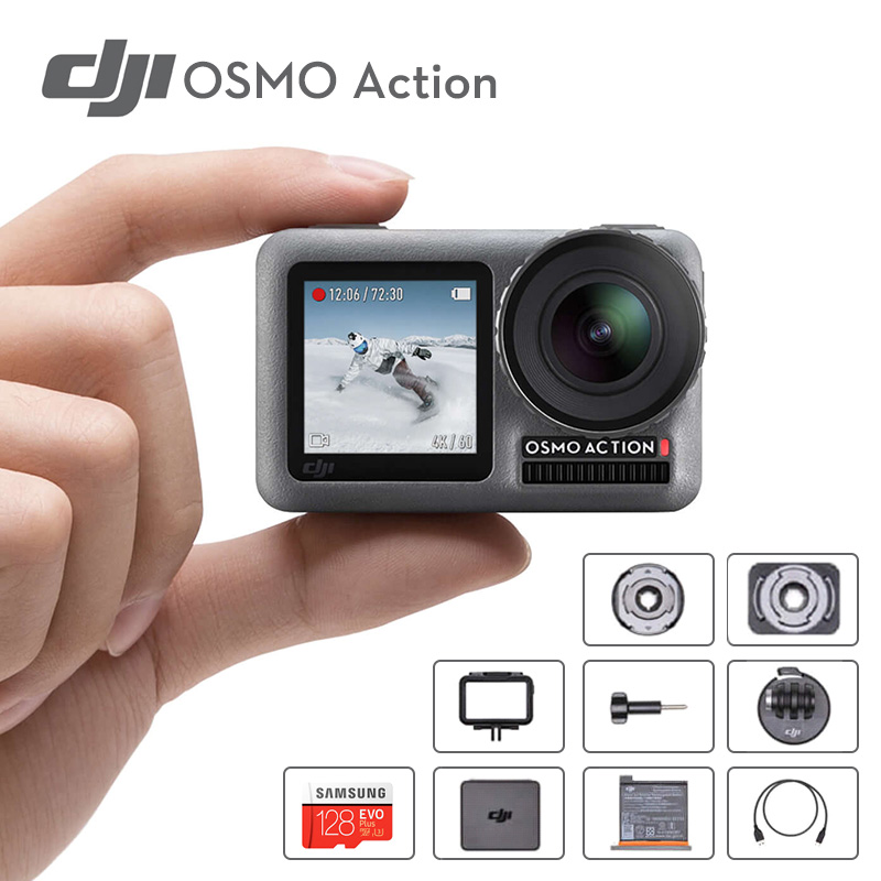 Original DJI Osmo Action Ultra HD 4K Sport Camera Underwater Camera 11m Waterproof For extreme sports