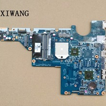 Для hp G62 CQ62 CQ42 G42 материнская плата 592809-001 аккумулятор большой емкости DA0AX2MB6E0 DA0AX2MB6E1 DA0AX2MB6F0 DDR3 maiboard тест Быстрая
