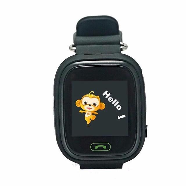 Smart watch relógio bebê q90 com wifi gps da tela de toque Chamada SOS Localização PKQ80 DeviceTracker para Criança Seguro Anti-Perdido Do Monitor Q60