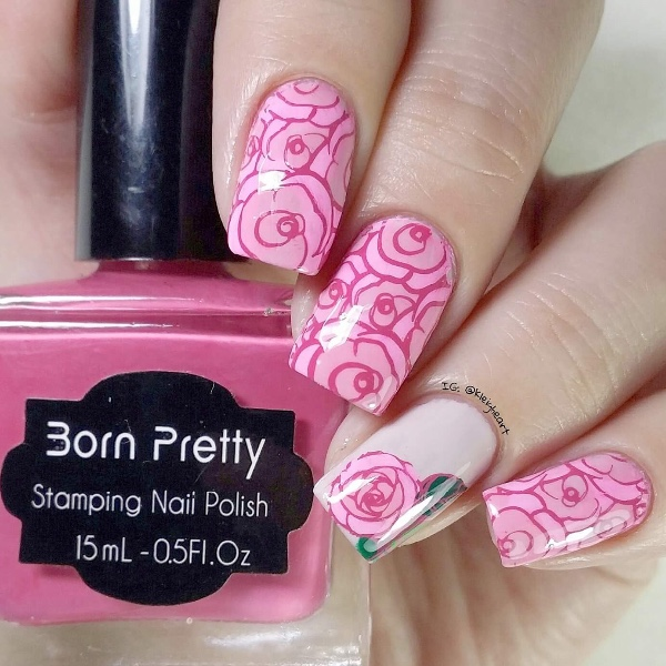Online Shop Hot Sale 15ml Candy Pink Sweet Color Born Pretty Nail ...