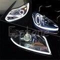2X 30cm Flexible Car Soft Tube Guide LED Strip Lamp DRL Daytime Running Light Auto Lamp