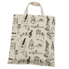 New Arrivals Good Quality Women Pure Cotton Canvas Bag Shopping Bag Handbag Environmental Protection Bag Gift Jan1