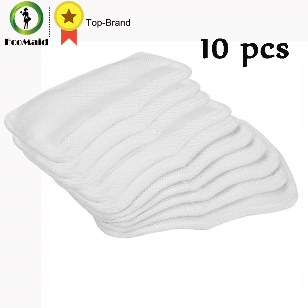 Steam Mop for Shark SK410/460 Replacement Pads For Shark Steam Mop Microfiber Machine Washable Cloths 10pcs free post ship new 6 qty for h20 5x clean mop washable velcro microfibre steam mop floor pads