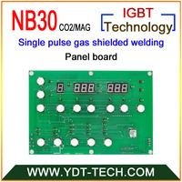 NB30 Single Pulse Gas Welding Control Panel To Weld Carbon Steel And Stainless Steel Designed 2PCS