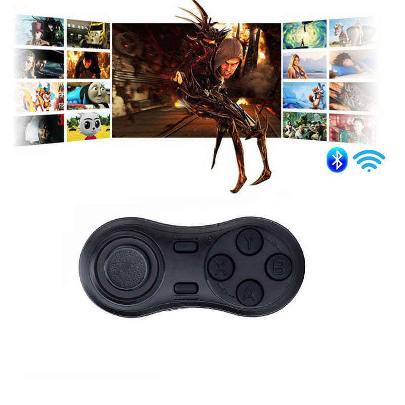 YOTEEN Bluetooth Gamepad iOS Android VR Game Controller Joystick Selfie Shutter Remote Control for Phone PC TV box Smart TV Game 9