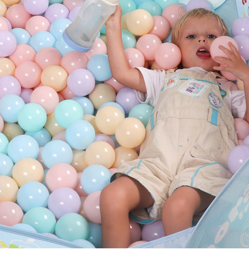 400 pçslote eco friendly colorido bolas de
