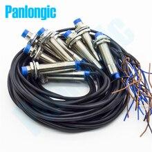 Interruptor de proximidad inductivo interruptor de LJ12A3 4 Z/BY de 4mm, detección PNP DC6 36V NO normalmente abierto, 10 Uds.