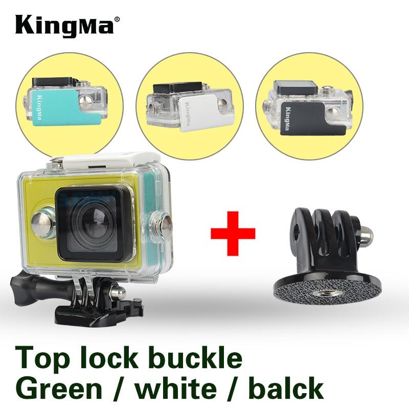 KingMa 45 m Underwater Diving estuche impermeable para Xiaomi Yi 1 deportes impermeable caja para Xiaomi yi acción Cámara protectora