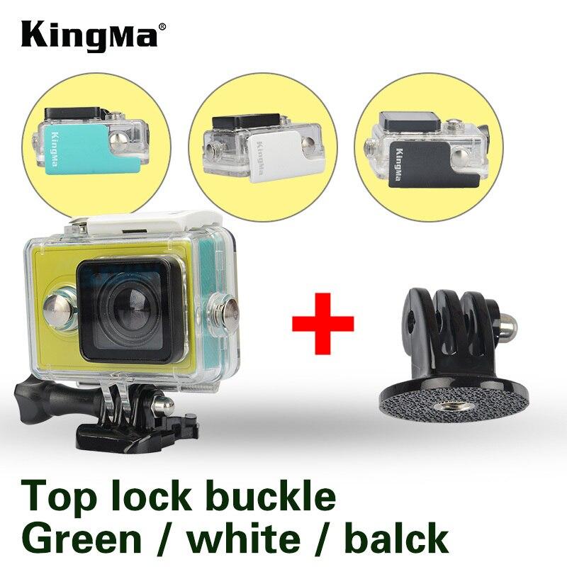 KingMa Original for Xiaomi Yi 1 Waterproof Case Mi Yi 40M Diving Sports Waterproof Box Yi Action Camera aksesoris Accessories waterproof aqua box водонепроницаемый кейс для xiaomi yi action 4k black