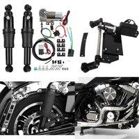 Мотоцикл задний пневматическая подвеска Электрический Центральная стойка для Harley Road King Electra Glide модель Road Street Glide 2009 2016 13 15