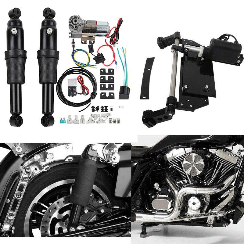 Support central électrique de Suspension de tour d'air arrière de moto pour Harley Road King Electra Glide Street Glide 2009-2016 13 15