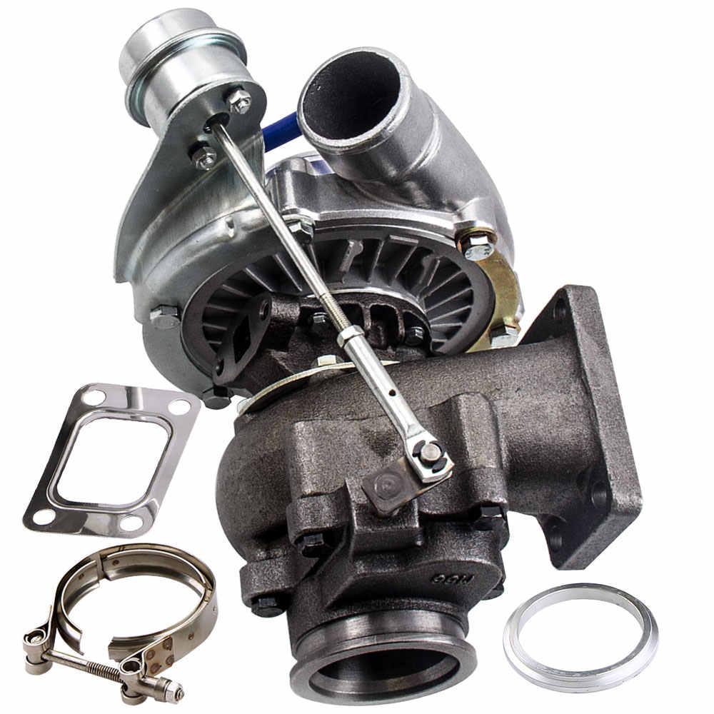 T3 T4 T04E A/R 0 50 0  63 V-band Oil Cool Universal Turbo Turbocharger 420  for Nissan Safari Patrol (4 2L)TD42 TD42T1 GQ GU Y60