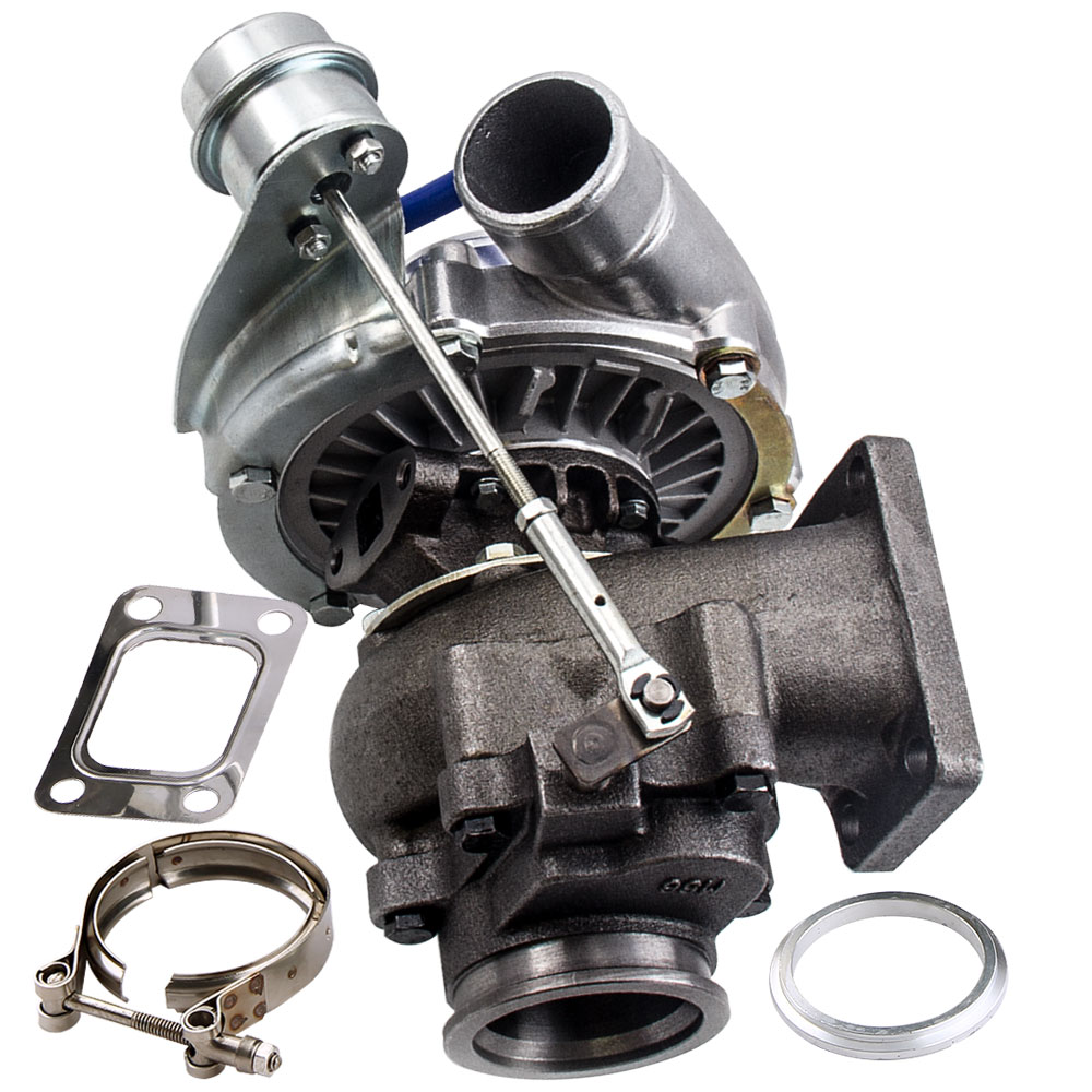 T3 T4 T04E A/R 0.50 0. 63 v-band huile Cool turbocompresseur universel 420 pour Nissan Safari patrouille (4.2L) TD42 TD42T1 GQ GU Y60
