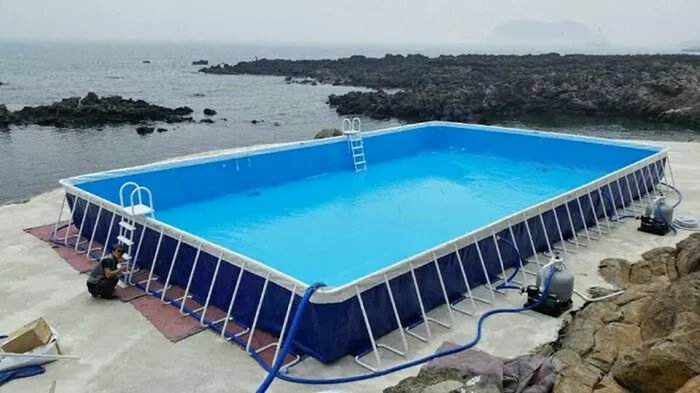 Support piscine piscine gonflable piscine chine pour enfants et adultes