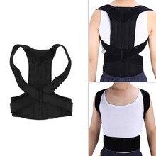 Adjustable Adult Corset Back Posture Corrector Therapy Shoulder Lumbar Brace Spine Support Belt Posture Correction For Men Women