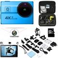 """Câmera ação Ultra HD 4 K WiFi 1080 P/60fps 2.0 """"LCD lente 173D esporte câmera do Capacete Câmera go-pro estilo pro câmera à prova d' água"""