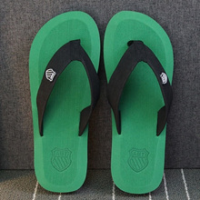 JYRhenium 2019 New Summer Beach Slippers Men Flip Flops High Quality Beach Sandals Zapatos Hombre Beach Shoes Wholesale Cheap 45