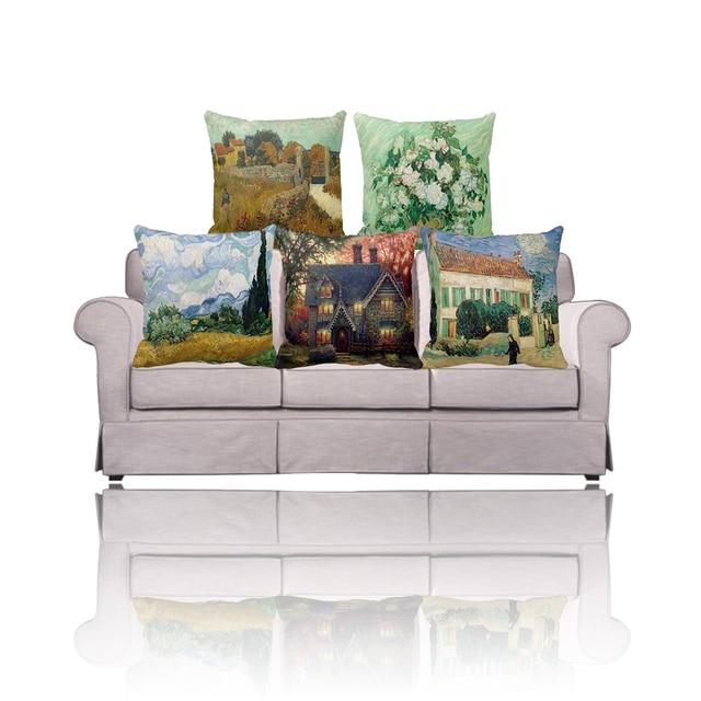 3D 2 Side Vincent van Gogh Boerderij in de Provence/Roses
