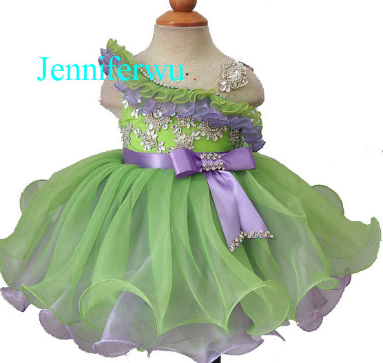 купить pageant party dresses prom dresses ball gown  baby dresses girl  1T-6T G1179-3 дешево
