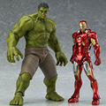 New hot sale anime figure the Avengers Age of Ultron Hulk figma 271 Collectible Kids Toys Gifts for Children 17CM Free Shipping