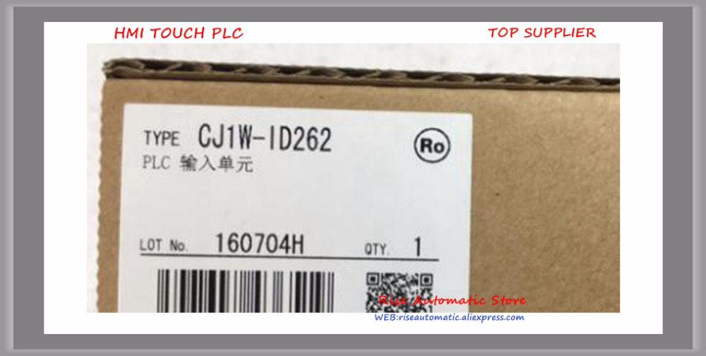 лучшая цена New Original Programmable Logic Controller CJ1W-ID262 PLC Basic I/O Unit