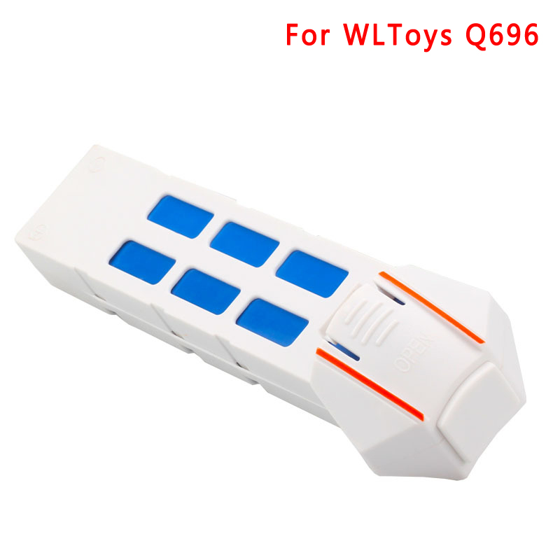 EBOYU(TM) Spare Parts 7.4V 2000MAh 30C Lipo Battery for WLtoys Q696 Q696A Q696B Q696C Q696E RC Quadcopter Drone 2pcs li polymer lipo battery 7 4v 300mah 30c for wltoys f959 rc airplane helicopter quadcopter drone spare toy parts
