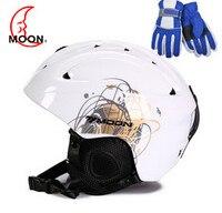 2018 MOON Ski Helmet Ultralight Integrally Molded High Quality Professional Snowboard Skateboard Helmet Men Women Multi